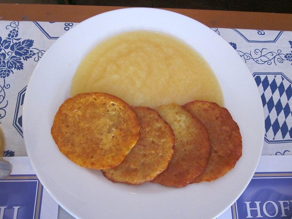 Hoffbrau Miami Potato pancakes