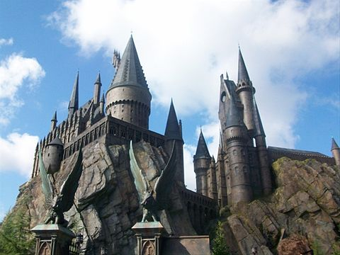 Hogwarts at Wizarding World.JPG