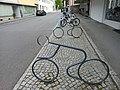 Hohenems-Marktstraße-universal bicycle stand of formed steel tube-01ASD.jpg