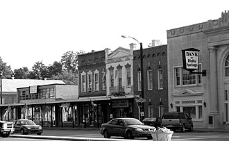 Holly Springs, Mississippi - Business District of Holly Springs