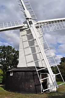 Holton Windmill grade II listed windmill in the United kingdom