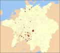 Le Libere Città Imperiali nel 1648