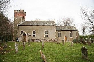 John Wheelwright - Holy Trinity Church, Bilsby, where Wheelwright was vicar
