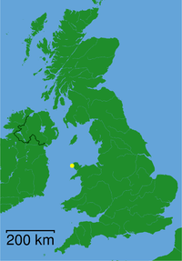 Holyhead (Caergybi) - Sir Ynys Mon (Isle of Anglesey) dot.png