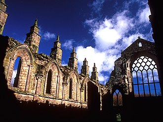 Holyrood Abbey - The ruins of Holyrood Abbey