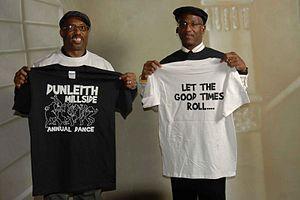 Dunleith, Delaware - Image: Homecoming Festival teeshirt