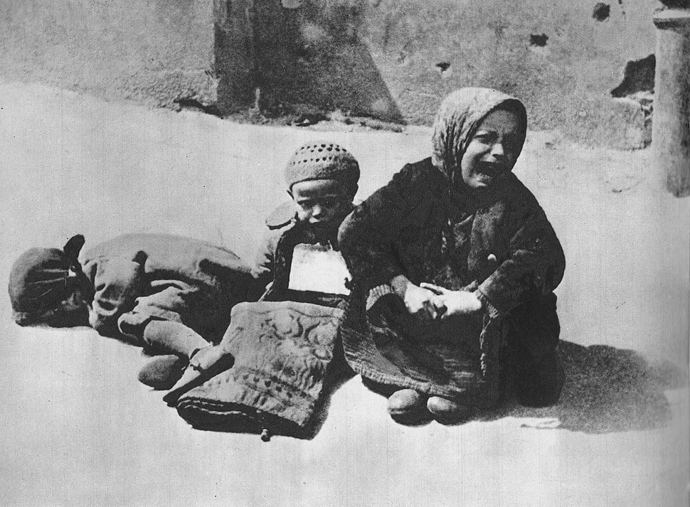 Homeless children Warsaw Ghetto