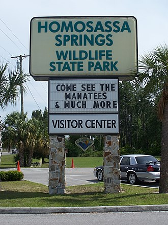 Homosassa Springs Wildlife State Park - Image: Homosassa Springs State Park 01