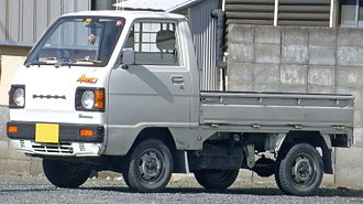 Honda Acty - 1983 Acty (second facelift)