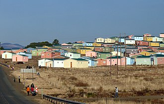 Barkly East - Low-cost housing in Barkly East