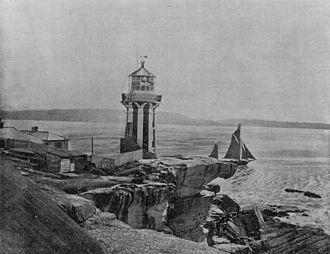Hornby Lighthouse - Hornby Lighthouse, 1895