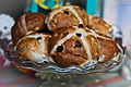 Hot Cross Buns at Fortnum & Mason, Piccadilly, April 2010.jpg