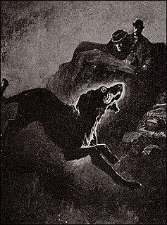 Black dog (ghost) Mythical creature of British folklore