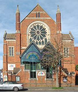 Hove Methodist Church Church in Brighton and Hove , England