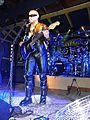 Hudební skupina Ortel, koncert v Runway Club, 26. 9. 2015, 1, Tomáš Ortel s akustickou kytarou.jpg