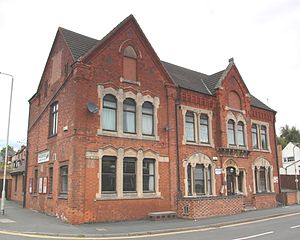 Working men's club - Hugglescote Working Men's Club, North West Leicestershire