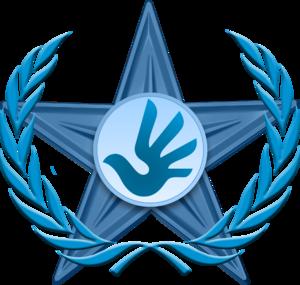 English: The Human Rights Barnstar may be awar...