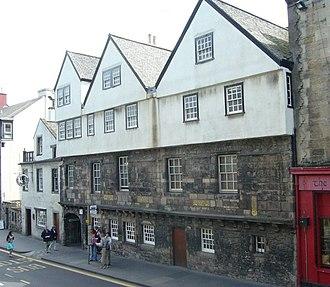 Museum of Edinburgh - Museum of Edinburgh in Huntly House