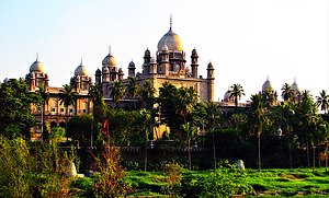 Heritage structures in Hyderabad, India - High Court of Judicature at Hyderabad