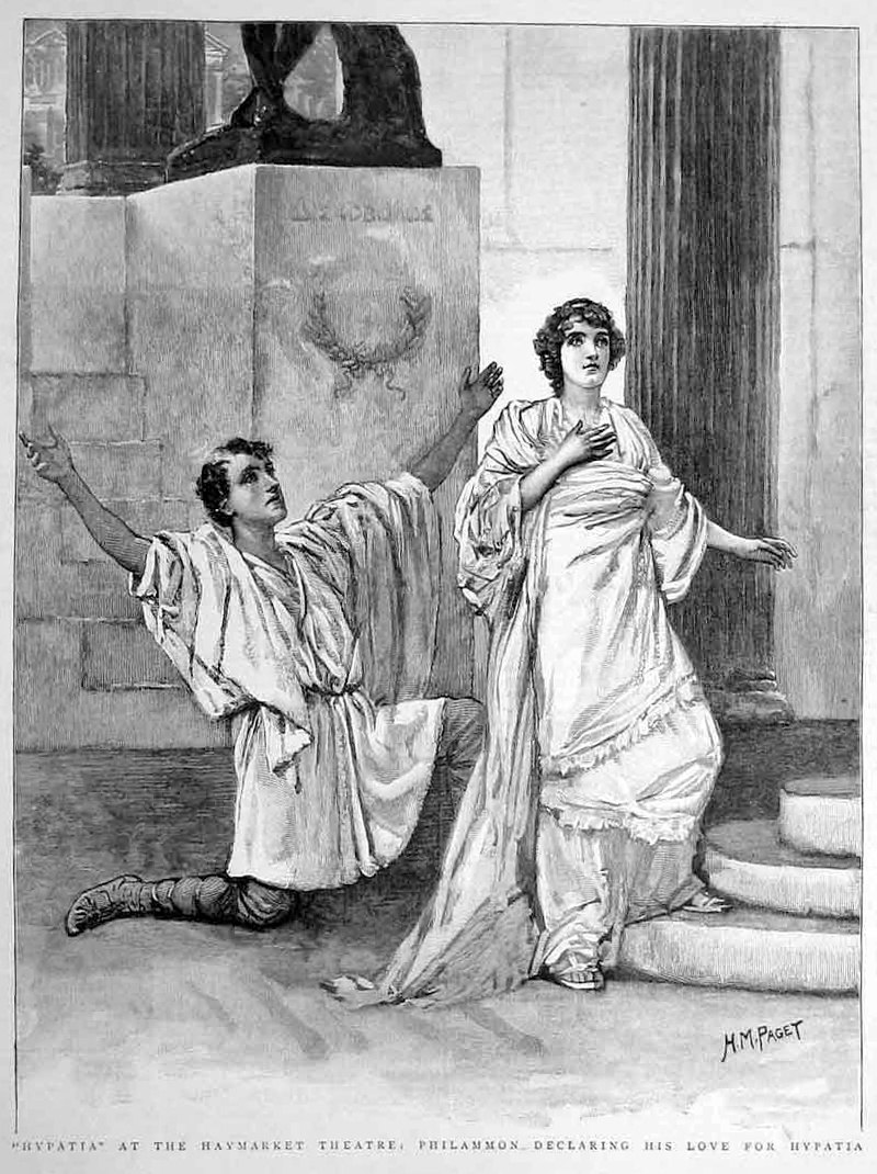 Hypatia at the Haymarket theatre - The Graphic - 21 January 1893