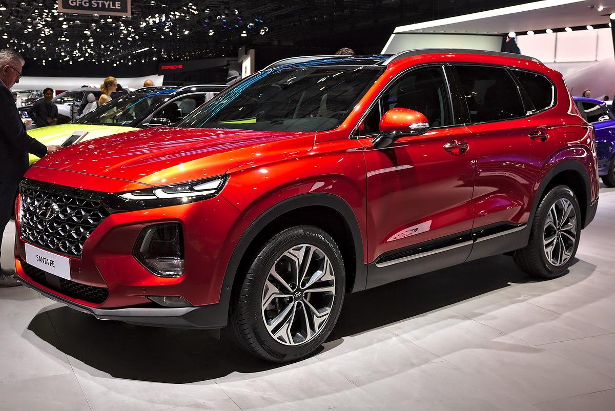 Honda Santa Fe >> Hyundai Santa Fe — Вікіпедія