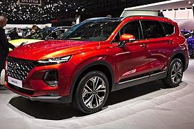 Hyundai Santa Fe Genf 2018