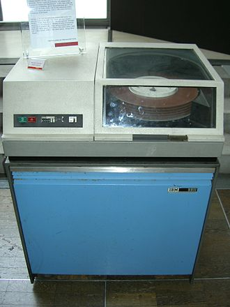 DOS/360 and successors - IBM 2311 disk drive