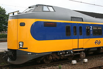 NS Intercity Materieel - 4012 at Apeldoorn