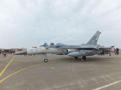 IDF F-CK-1A 1488 Display at Ching Chuang Kang AFB Apron 20111112