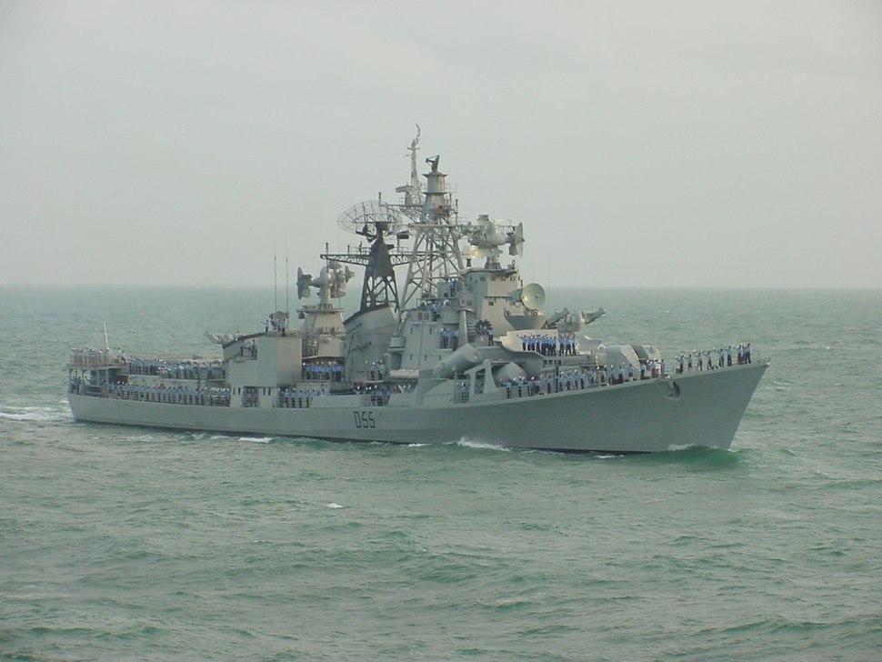 INS Ranvijay (D55)