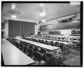 INTERIOR, LOOKING WEST - Alaska Native Brotherhood Hall, Sitka Camp No. 1, Katlian Street, Sitka, Sitka Borough, AK HABS AK,17-SITKA,8-3.tif