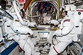 ISS-38 EVA-1 (d) Rick Mastracchio and Mike Hopkins in the Quest airlock.jpg