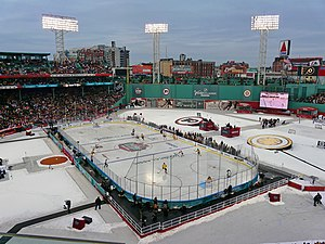 View of ice surface at the 2010 NHL Winter Classic