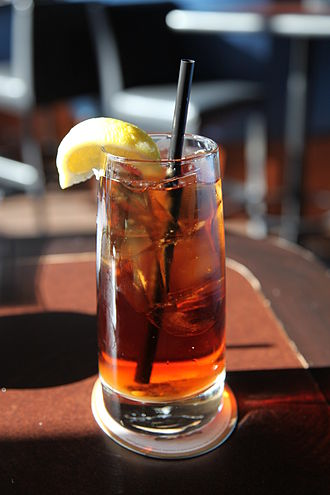 Iced tea - Iced tea with lemon
