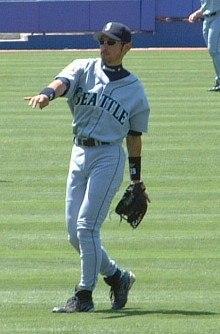 Ichiro at defence