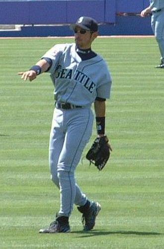 Ichiro Suzuki - Ichiro in July 2001