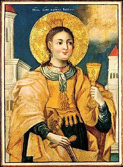 Ikona sv. Barbory