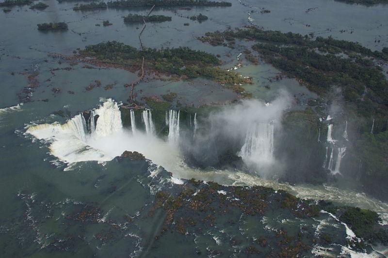 Iguazu Falls Helicopter Tours Brazil