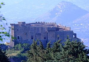 Sicignano degli Alburni - Image: Il Castello Giusso di Sicignano degli Alburni