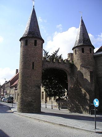 Lo-Reninge - Image: Image City wall Lo