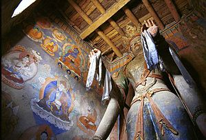 Alchi - Image: Image of Kannon in Ladakh 001