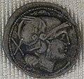 Impero, caracalla, denaro d'argento (roma), 211-217, 01.JPG
