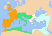 Impero Romano da maggio a settembre 337