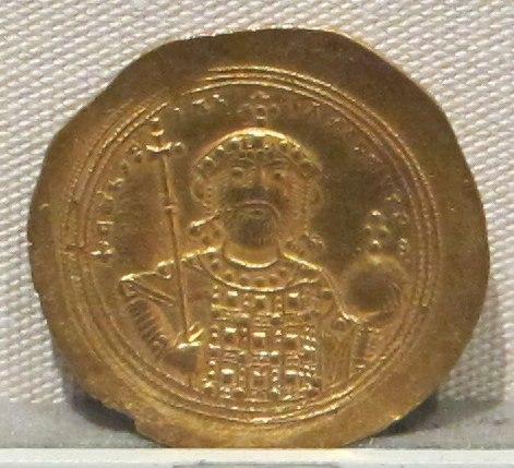 Impero romano d'oriente, costantino IX, emissione aurea, 1042-1055