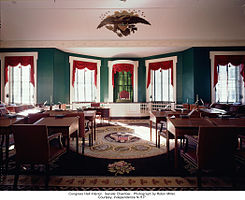 Independence National Historical Park Congress Hall Senate chamber.jpg