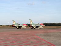 Indonesian F-16 in Ngurah Rai Airport.JPG