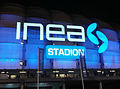 Inea Stadion light sign.jpg