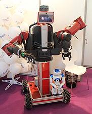 Innorobo 2015 - Rethink Robotics - Baxter Intera 3 & NAO.JPG