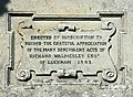 Inscription on memorial to Richard Walmesley Esq. - geograph.org.uk - 994498.jpg