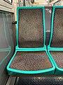 Intérieur Rame MF67 Métro Station Porte Lilas Ligne 3bis Paris 7.jpg
